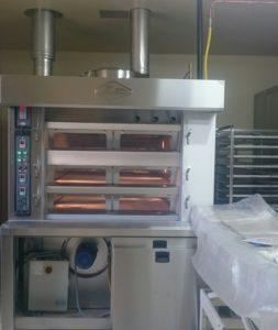 Hybride oven in de bakkerij